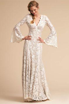 5722ad0a0d6e Watters Lucca Gown. Mod WeddingWedding BrideBhldn Wedding DressBohemian ...