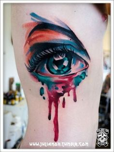 25 Tatouages aquarelle magnifiques, de vraies œuvres d'art