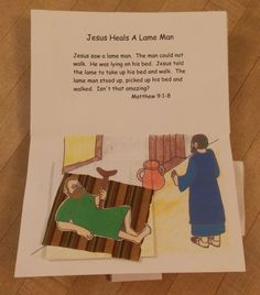 Miracles of Jesus Pop-up Book | Bible Songs And More