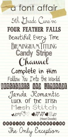A Font Affair-digital scrapbooking fonts Fancy Fonts, Cool Fonts, Awesome Fonts, Pretty Fonts, Font Love, Dafont, Abc Letra, Little Presents, Typography Fonts