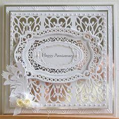 Silver Wedding card | docrafts.com
