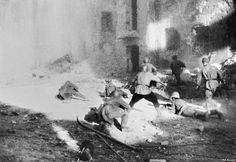 Laying waste to Stalingrad ultimately failed to help the Germans take the city, however, as they soon got bogged down in morale-sapping street battles amid the ruined buildings.