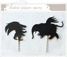 Mer Mag: a mix and match & em monster… Fun Crafts For Kids, Diy For Kids, Shadow Monster, Paper Puppets, Puppet Show, Shadow Art, Shadow Puppets, Classroom Crafts, Nature Crafts