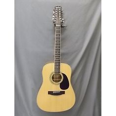 Mitchell MD100S12E 12 String Acoustic Electric Guitar Natural