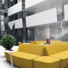 FLAX - Strefa relaksu to idealna propozycja odpowiadająca na rosnącą potrzebę zaaranżowania dużych, otwartych przestrzeni, w których można szybko skorzystać z komputera czy poczytać w spokoju ulubioną książkę.