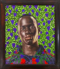 Kehinde Wiley Studio | Matar Mbaye II, 2008 - Oil on canvas