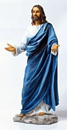 Welcoming Jesus Christ Statue Hand Painted full color - Veronese collection