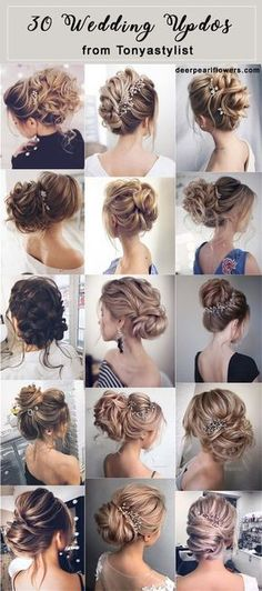 Tonyastylist Wedding Updos for Long Hair
