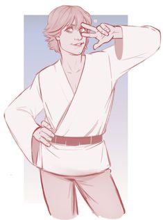 dagobah luke is my favourite by RinGreen on DeviantArt Star Wars Drawings, Star Wars Luke Skywalker, Star Wars Wallpaper, Star War 3, The Force Is Strong, Fanart, Star Wars Rebels, Star Wars Collection, Star Wars Humor