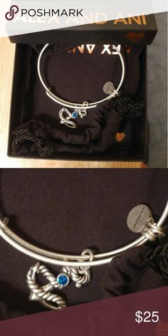 Alex and Ani silver anchor charm Authentic Alex and Ani silver anchor charm never worn Alex and Ani Jewelry Bracelets