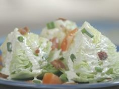 Blue Cheese Wedge Salad from CookingChannelTV.com