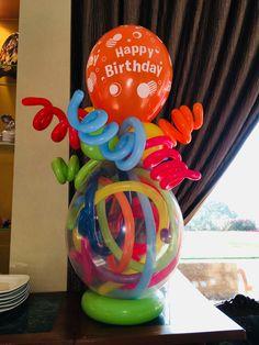 Balloon Arrangements, Balloon Decorations, Balloon Bouquet, Balloon Arch, Busy Board Baby, Balloon Gift, Ideas Para Fiestas, Love Craft, Birthday Balloons