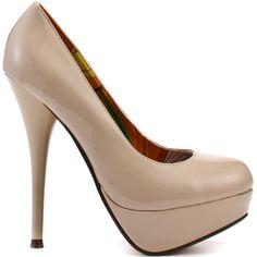 nude heels   Jenny Style   Pinterest   Nude Heels, Platform Pumps ...