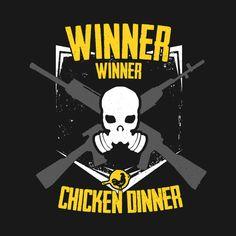 Attractive Shop Winner Winner Emblem Pubg T Shirts Designed By TheHookshot As Well As  Other Pubg Merchandise At TeePublic.
