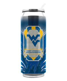 Love this West Virginia Mountaineers 16.9-Oz. Stainless Steel Thermocan on #zulily! #zulilyfinds