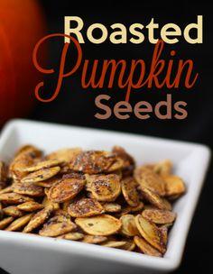Roasted Pumpkin Seeds Recipe - Wanna Bite