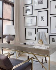 7 Cool Office Designs Based On The Success Feng Shui Principle – Modern Home Office Design Decor, Office Decor Professional, Home Decor Styles, Interior, Home, Home Office Design, Office Interior Design, Interior Design, Office Design