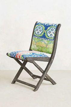 Anthropologie - Suzani Terai Folding Chair $198