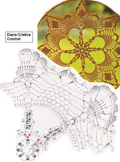 Crochet Art, Crochet Home, Thread Crochet, Crochet Doilies, Doily Patterns, Purse Patterns, Crochet Patterns, Crochet Diagram, Filet Crochet