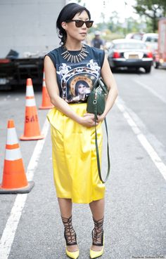 This Is How To Wear Your Ratty Old T-Shirts (In Public)