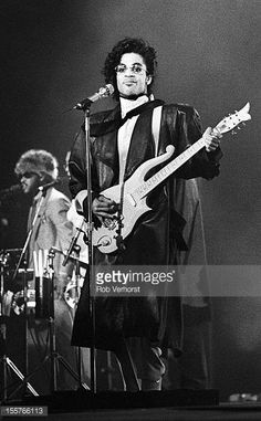 Prince performs on stage on the Sign of the Times Tour Westfalenhalle Dortmund Germany 1st June 1987