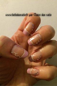#Nailart douceur de french - Belle des nails
