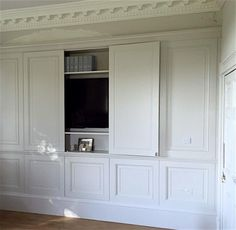 Trefurn - beautiful cabinetry 21 beautiful ways how to hide the TV