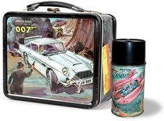 The 1966 James Bond 007 lunchbox and thermos. Of course I had this; what 8 year-old boy wouldn't?