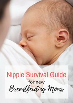 Breastfeeding brings with it some very sore nipples! This Nipple Survival Guide for Breastfeeding Moms will help you get through those difficult days when it feels like your nipples are going to fall off!