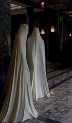 Awesome lifesize ghosts