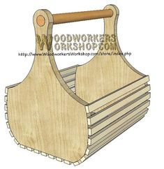 Downloadable Woodworking Plans | ... Basket for Wine and Gifts Downloadable Scrollsaw Woodworking Plan PDF