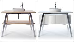 Philippe Starck Wastafel : Designed by philippe starck cape cod removes the barrier between