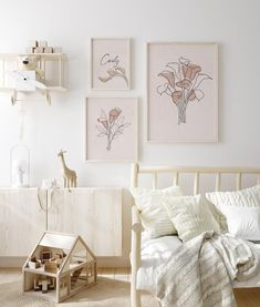 🎁 Choose 4 prints or sets of prints (add 4 items to your basket), use ⭐ 4FOR2 ⭐ code at checkout, and receive 50% off on your order! ❤🎁 Calla Lillies, 3 Piece Wall Art Flowers, Baby Name Print, Line Art Flower, Birth Poster, Blush Pink Wall Art, Modern Line Drawing, Cala Lily Looking for 3 pieces Ikea Nursery, Nursery Name, Nursery Themes, Nursery Prints, Themed Nursery, Baby Name Signs, Baby Names, Flower Art, Art Flowers