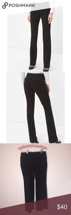 White House Black Market Dress Pants Worn once for interview, perfect condition. White House Black Market Pants Boot Cut & Flare