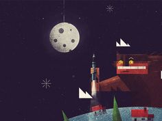 I Love You Right Up to the Moon & Back - Dan Matutina is Twistedfork Google Apps For Work, I Love You, My Love, Google Doodles, Gadget Gifts, 2d Art, Cool Cartoons, Illustration Art, Graphic Illustrations
