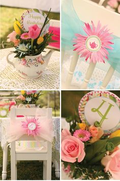 Sweet Garden Tea Party Birthday!