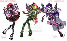 Monster high faries