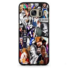Ed Sheeran Collage Samsung Phonecase For Samsung Galaxy S3 Samsung Galaxy S4 Samsung Galaxy S5 Samsung Galaxy S6 Samsung Galaxy S7
