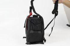 Quik waterproof nylon camera aslant bag
