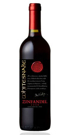 Whitesnake Wine - this actually exists!