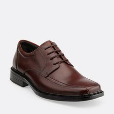 Espresso Brown Leather - Men's Oxfords and Lace Up Shoes - Clarks