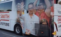 """Owen Smith thrilled with shiny new campaign bus -- Owen Smith is said to be delighted with his shiny new campaign bus. """"It's brilliant!"""" he sang. """"It shits all over Corbyn's campaign bike"""" Smith drew criticism from grass roots suporters however, when they learnt that it was funded from the £25 fee they were ... -- #Bus, #Corbyn, #Labour, #Smith -- http://wp.me/p7GOKB-19P"""