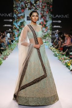 Bridal Fashions http://maharaniweddings.com/gallery/photo/20595 @Shiv Sachdeva Gopal Music/designer-shyamal-bhumika