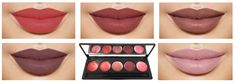 Lip Gloss Lipstick Makeup Palette 2 with Mirror 5 Color Set *** You can find out more details at the link of the image.