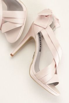White by Vera Wang Satin Platform Sandal with Bow Back Detail at David s  Bridal Vera Wang · Vera Wang Wedding ShoesDesigner ... 69330d4baf90