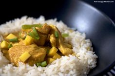 Hähnchen-Mango-Curry