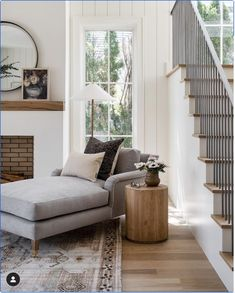 Curved Sofa, Studio Mcgee, Bedding Shop, Modern Classic, Classic Style, Great Rooms, Living Spaces, Living Rooms, Family Rooms