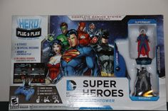 R$ 84.50 New in Toys & Hobbies, Action Figures, TV, Movie & Video Games Comic Games, Batman And Superman, Dc Heroes, Deadpool Videos, Dc Comics, Action Figures, Baseball Cards, Superhero, Video Games