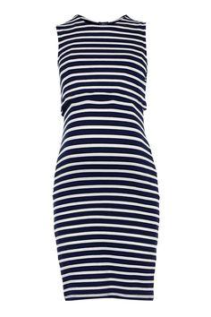 MATERNITY Stripe Nursing Dress - Maternity - Clothing - Topshop USA