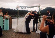 Just Like Heaven #wedding #evergreenlakehouse #colorado